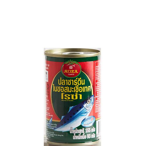 ปลากระป๋องโรซ่า ปลาซาร์ดีน 155g